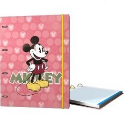 CARPEBLOC A4 4AN MICKEY CIRCULOS