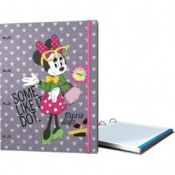 CARPEBLOC A4 4AN MINNIE DOTS