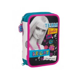 PLUMIER CREMALLERA DOBLE TEAM BARBIE