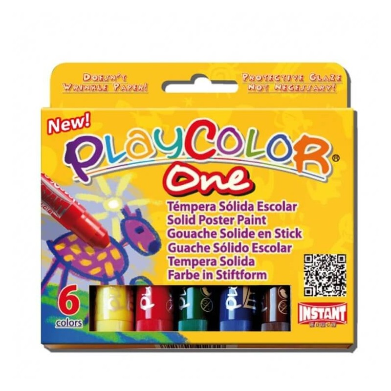 Témpera Solida Playcolor 6 und
