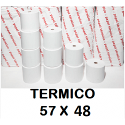 ROLLOS TERMICOS 57X55MM P/10