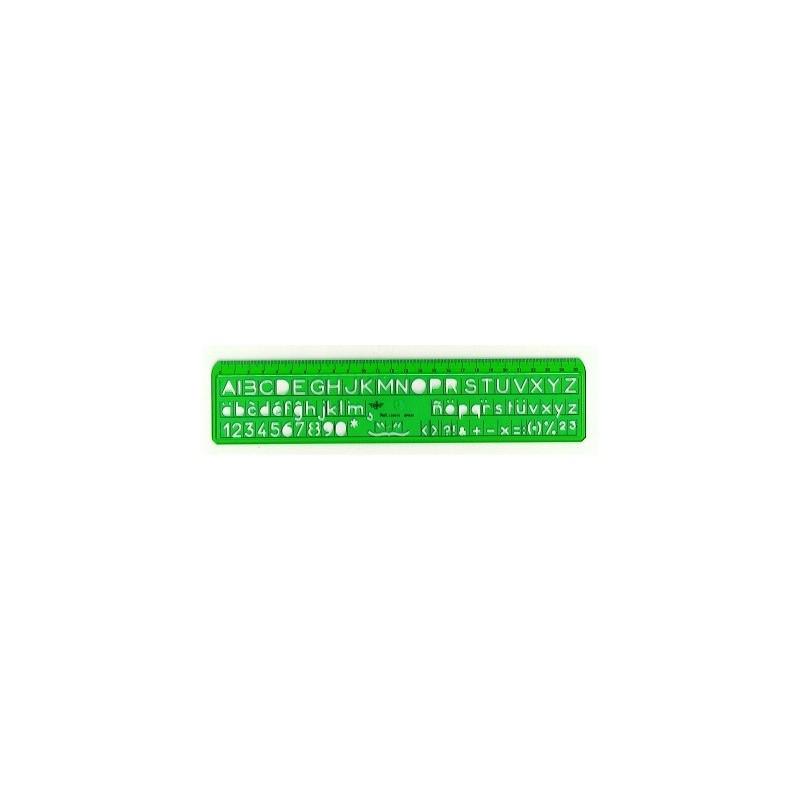 Plantilla Dfh Letras 10 mm 10 und