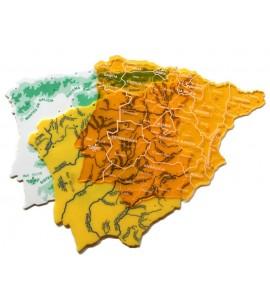 Juego Plantillas Mapa España Grande