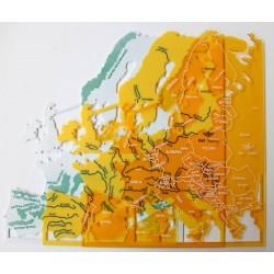 Juego Plantilla Mapa Europa 5 und