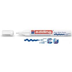 Rotulador Blanco Edding 750 10 und