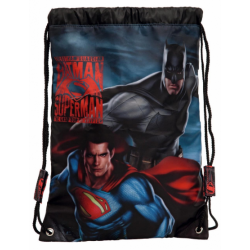 BOLSA GIMNASIO 41CM BATMAN VS SUPERMAN