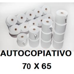 ROLLOS AUTOCOPIATIVO 75X65 P/10