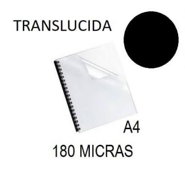 PORTADA A4 DFH 180 MICRAS NEGRO