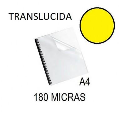 PORTADA A4 DFH 180 MICRAS AMARILLO