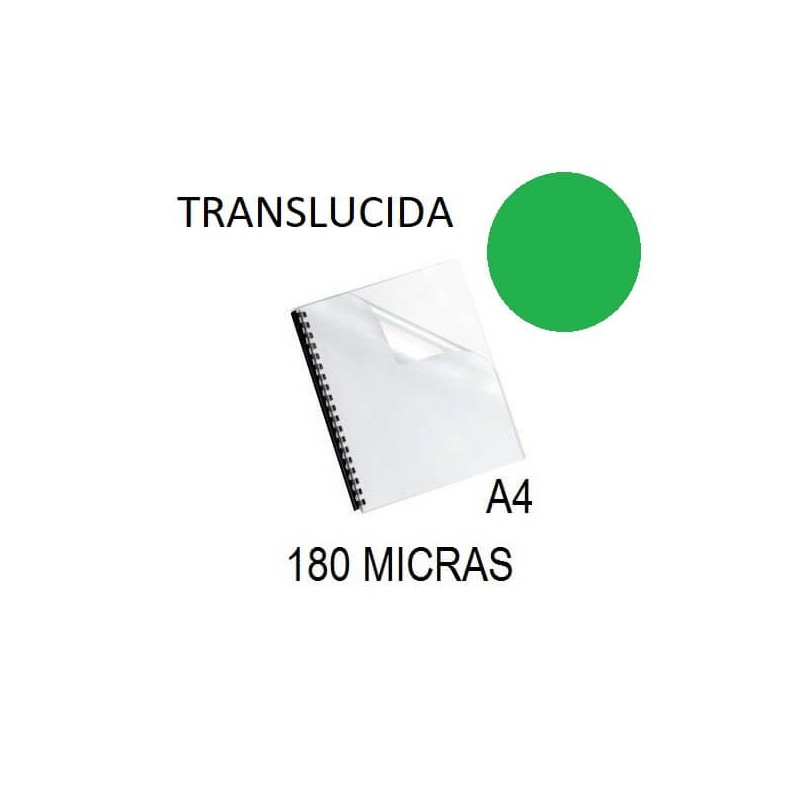 PORTADA A4 DFH 180 MICRAS VERDE