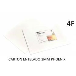 CARTÓN ENTELADO PHOENIX 4F 33X24CM