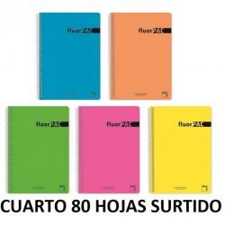 BLOC CUARTO 80H FLUORPAC 4x4 90GR
