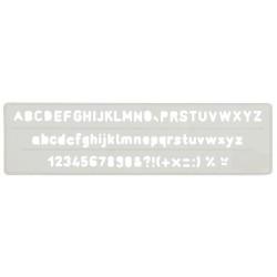 Normografo Makro Paper 10 mm.