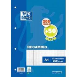 RECAMBIO A4 OXFORD