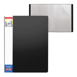 CARPETA FUNDAS A4 FLEXIBLE 10F.NEGRO