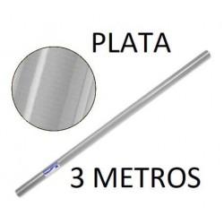 ROLLO PAPEL KRAFT 1X3 PLATA