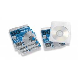 SOBRES CD/DVD BLANCO PAQ.50