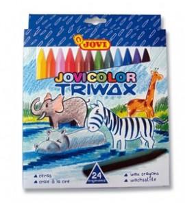 Ceras Jovicolor Triwax 24 colores