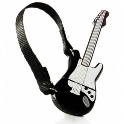 PENDRIVE 32GB GITARRA BLACK 8 WHITE