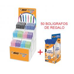 BOLIGRAFO BIC CRISTAL UP EXP/180