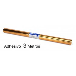 ROLLO ADHESIVO SADIPAL ORO 0,5 x 3 M