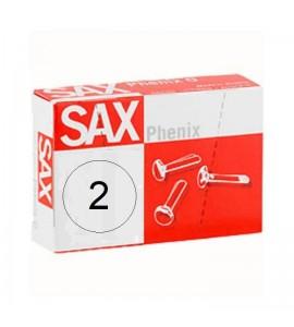 ENCUADERNADORES SAX Nº2 16,5mm