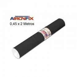 ROLLO AIRONFIX NEGRO Brillo 0,45 x 2 M