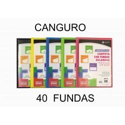 CARPETA 40 FUNDAS CARCHIPLAS CANGURO