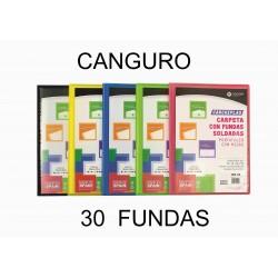 CARPETA 30 FUNDAS CARCHIPLAS CANGURO