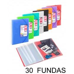 CARPETA 30 FUNDAS ARCHIVEX ESPIRAL