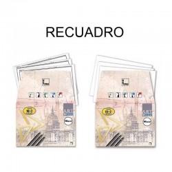 LÁMINAS DIBUJO A4 ART CON RECUADRO 10+2