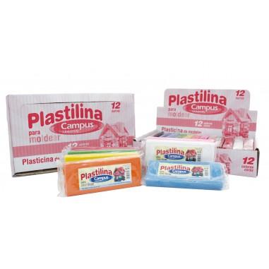 PLASTILINA CAMPUS MEDIANA 200G /12U