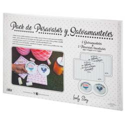 PORTAVASOS + SALVAMANTELES