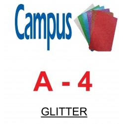 CARTULINA GLITTER A4 CAMPUS