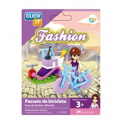 EXPOS. 24 JUEGO BLOQUES CLICK-IT MIX FASHION