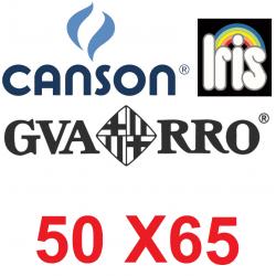 Cartulina Canson Iris 50x65 colores lisos
