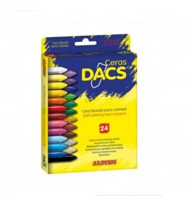 Ceras Dacs 24 colores
