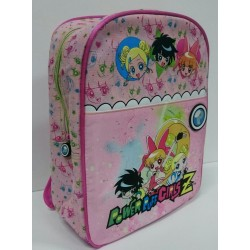 MOCHILA MEDIANA POWER PUFF INFANTIL ROSA