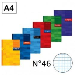 LIBRETA A4 CAMPUS 48H Nº46 90GR P/6