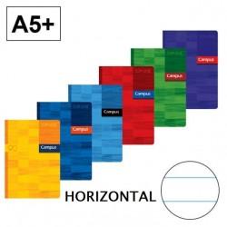 LIBRETA A5 CAMPUS 48H HORIZONTAL 90GR P/5