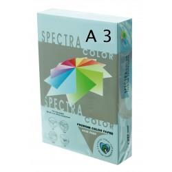PAPEL A3 SPECTRA AZUL CIELO 80GR 500H