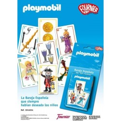 BARAJA CARTAS PLAYMOBIl