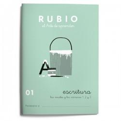 CUADERNO RUBIO ESCRITURA 01/10UD