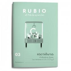 CUADERNO RUBIO ESCRITURA 03/10UD
