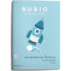 CUADERNO RUBIO C.LECT.2MUNDO ESPAC/5U