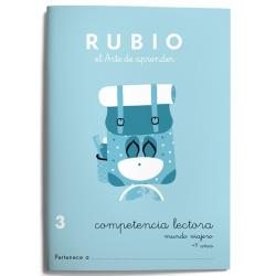 CUADERNO RUBIO C.LECT.3MUNDO VIAJE/5U