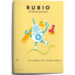 CUADERNO RUBIO COMPET.MATEMATICA 1/5U