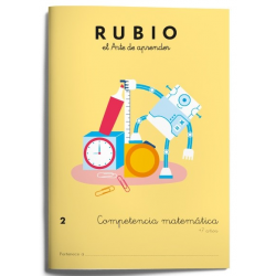 CUADERNO RUBIO COMPET.MATEMATICA 2/5U