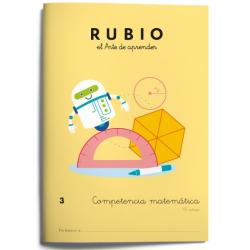 CUADERNO RUBIO COMPET.MATEMATICA 3/5U