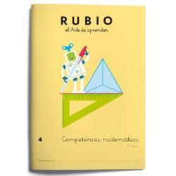 CUADERNO RUBIO COMPET.MATEMATICA 4/5U